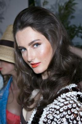 Włosy Długie Kategoria Koloryzacja Obraz Fashion Week
