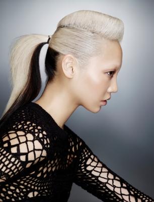 Warkocze Kategoria Koloryzacja Obraz Wlosy Blond Z