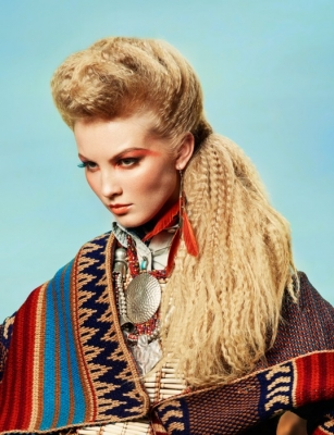 Warkocze Kategoria Włosy Długie Obraz Galeria Fryzur